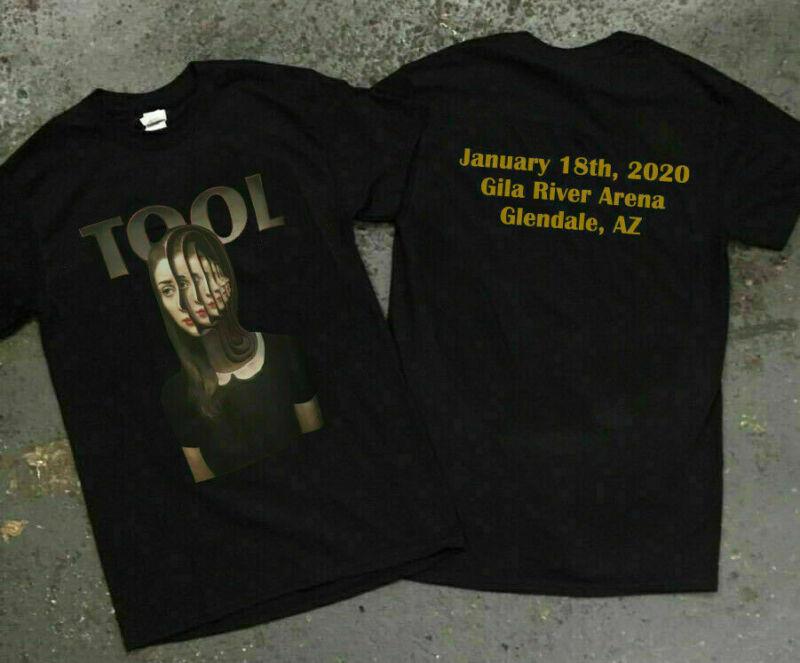 TOOL T-Shirt TOUR JANUARY 18  2020 - Gila River Casino Glendale Arizona /TOOL-T-Shirt-TOUR-JANUARY-18-2020-Gila-193361285019.html