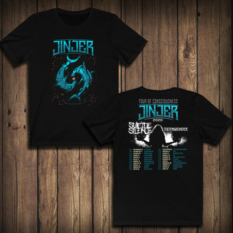 Jinjer With Suicide Silence  Toothgrinder 2020 Tour Dates T-SHIRT GUARANTEE 100% /Jinjer-With-Suicide-Silence-Toothgrinder-2020-Tour-Dates-293458706535.html