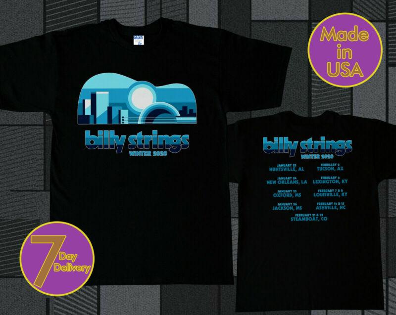 Billy Strings Tshirt Winter Tour 2020 Tee Shirt S - 2XL