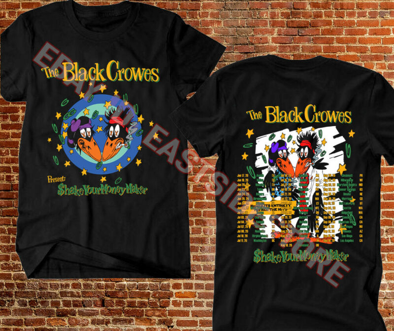The Black Crowes T-shirt Shake Your Money Maker 2020 Tour Rock & Roll Music Tee