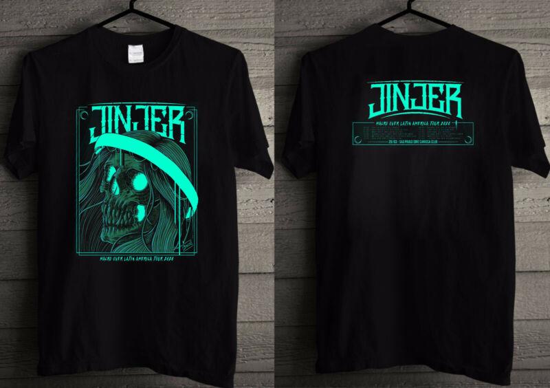 JINJER Malro Over Latin America TOUR 2020 T shirt
