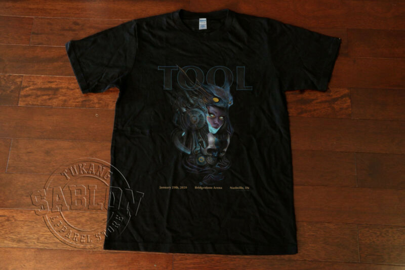 Tool Band Tour Jan 29th 2020 Brigestone Arena NASHVILLE TN T Shirt S-5XL