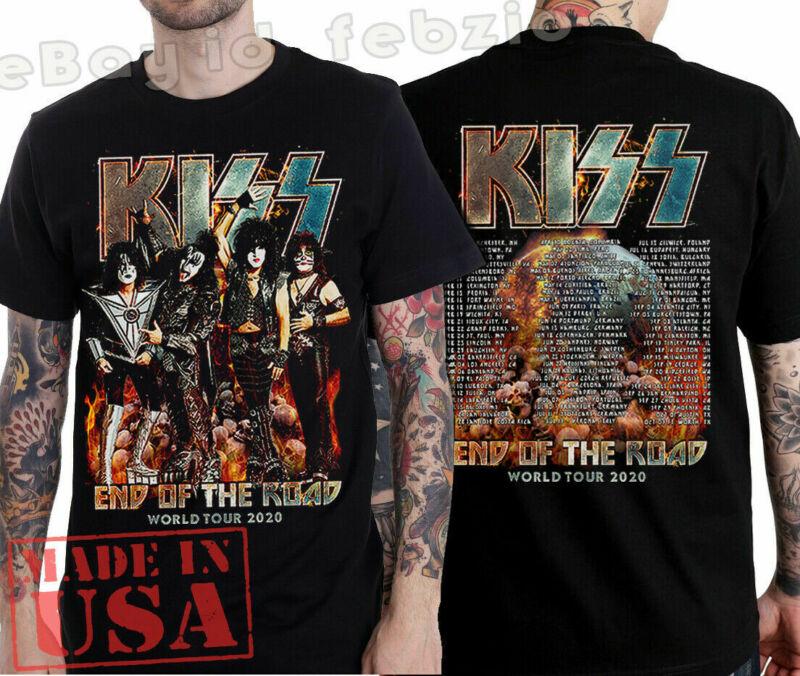 KISS-End Of The Road World Tour 2020 Leg 5 - 8 Complete Dates Concert Size S-2XL