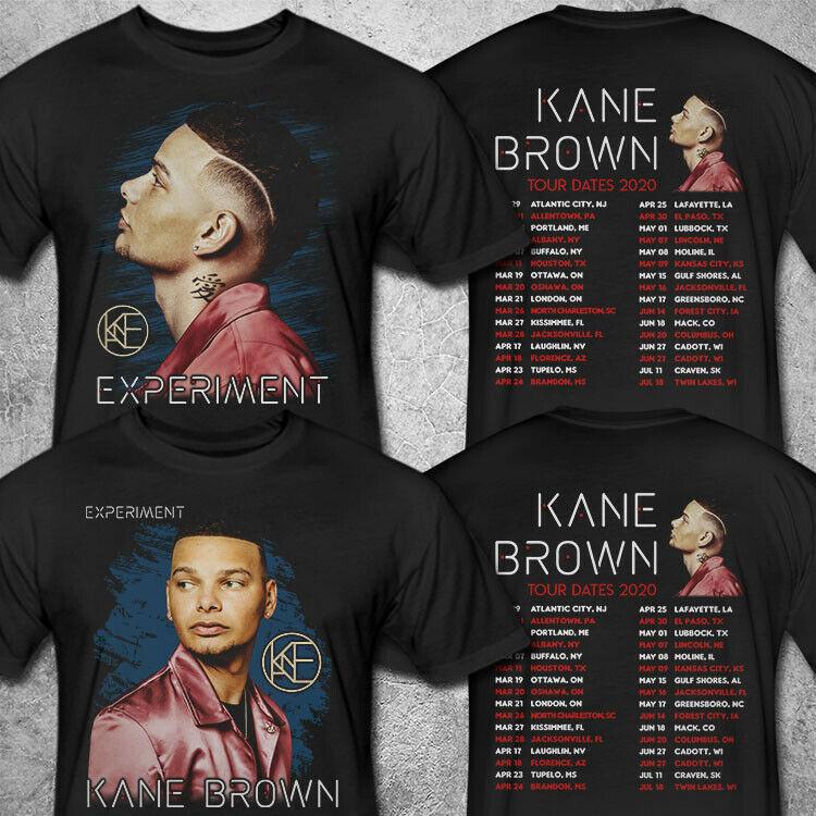 Kane Brown Tour Dates 2020 T shirt S-3XL MENS
