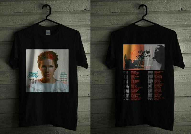Halsey Manic World Tour 2020 Merchandise T Shirt S-5XL