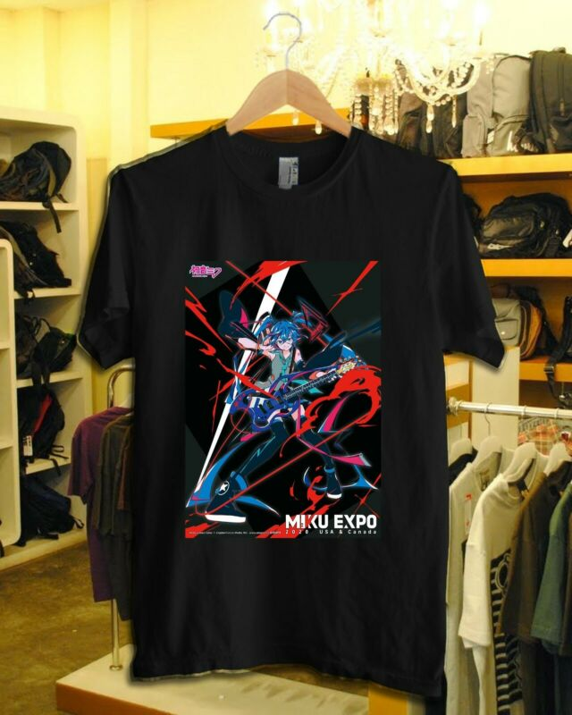 New Miku Expo 2020 USA & Canada Tour Announced T Shirt XL (Other Sz Chat Me)