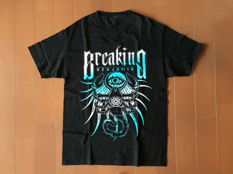 breaking benjamin tour 2020 gildan black new t shirt