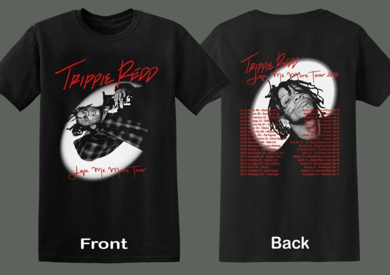 Trippie Redd T-shirt Love Me More Tour 2020 America Dates RAP Hip Hop R&B Music