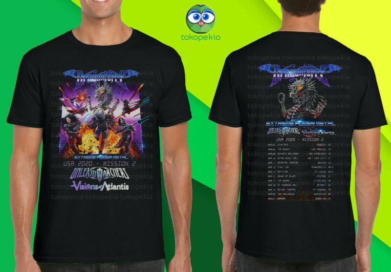 Dragon Force Extreme Power Metal USA Tour 2020 T-Shirt Merch