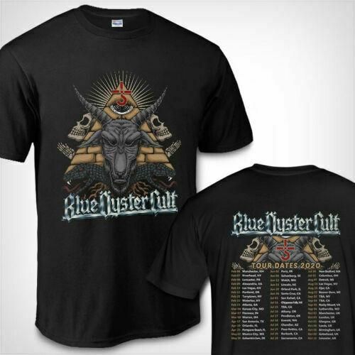 Blue Oyster Cult Tour Dates 2020 BOC Shirt Tour 2020 T-Shirt NEW