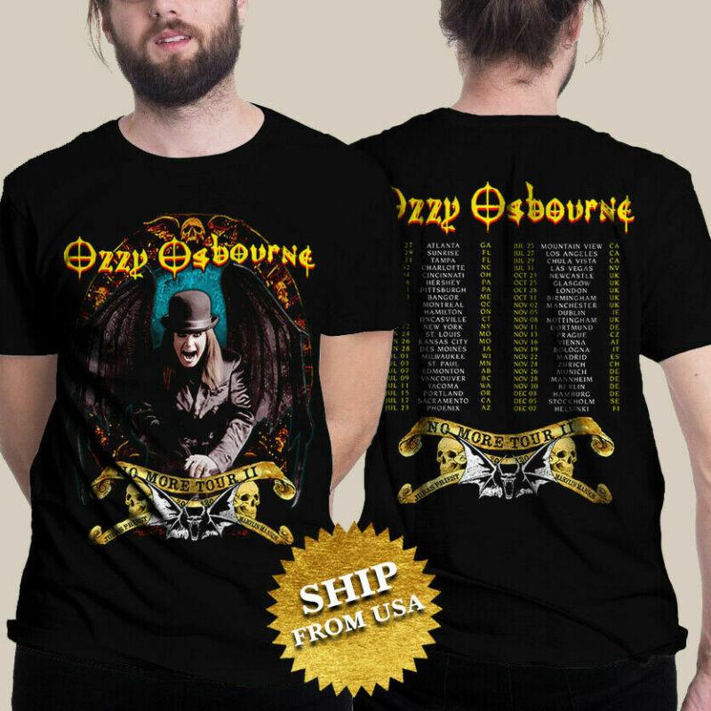 Ozzy Osbourne T Shirt 2020 No More Tours 2 T-Shirt Unisex Black Size S - 3XL tee