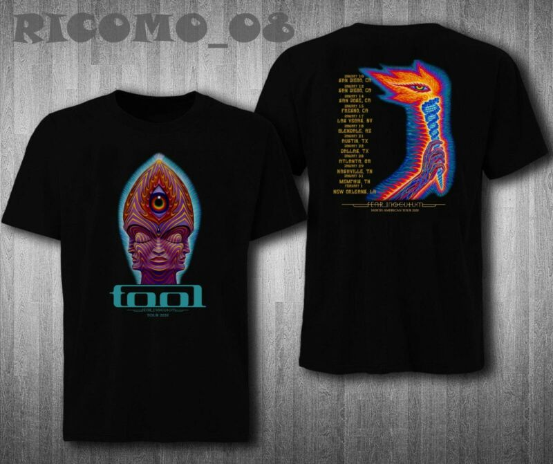 Tool in Concert and killing jokes Tour 2020 T shirt S to 2XL GILDANTool in Conce