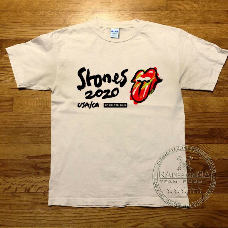 The Rolling Stones Return To Tampa For Their 2020 ?no Filter? Tour Shirt Reprint