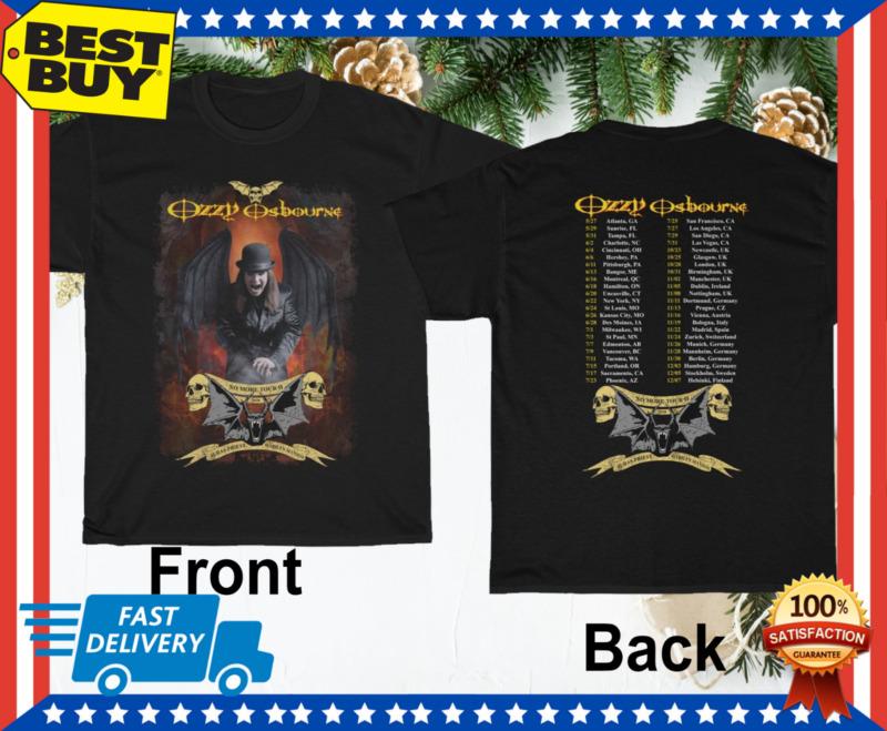 Ozzy Osbourne T Shirt 2020 No More Tours 2 T-Shirt Unisex Black Size M - 3XL