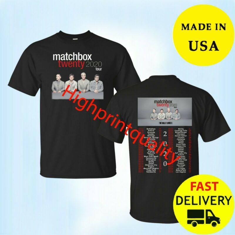 Matchbox Twenty Shirt North American Tour 2020 T-Shirt Black Size M-3XL