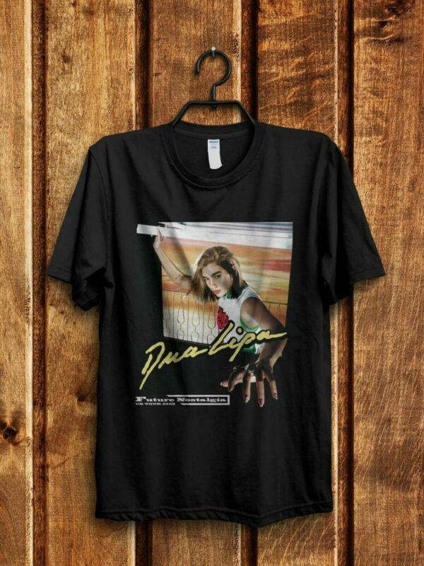 Dua Lipa UK Tour 2020 Concert T-Shirt Gildan Mens Size S to XXL