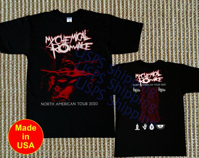 My Chemical Romance t-shirt MCR Reunite North American Tour 2020 Emo Music Tee