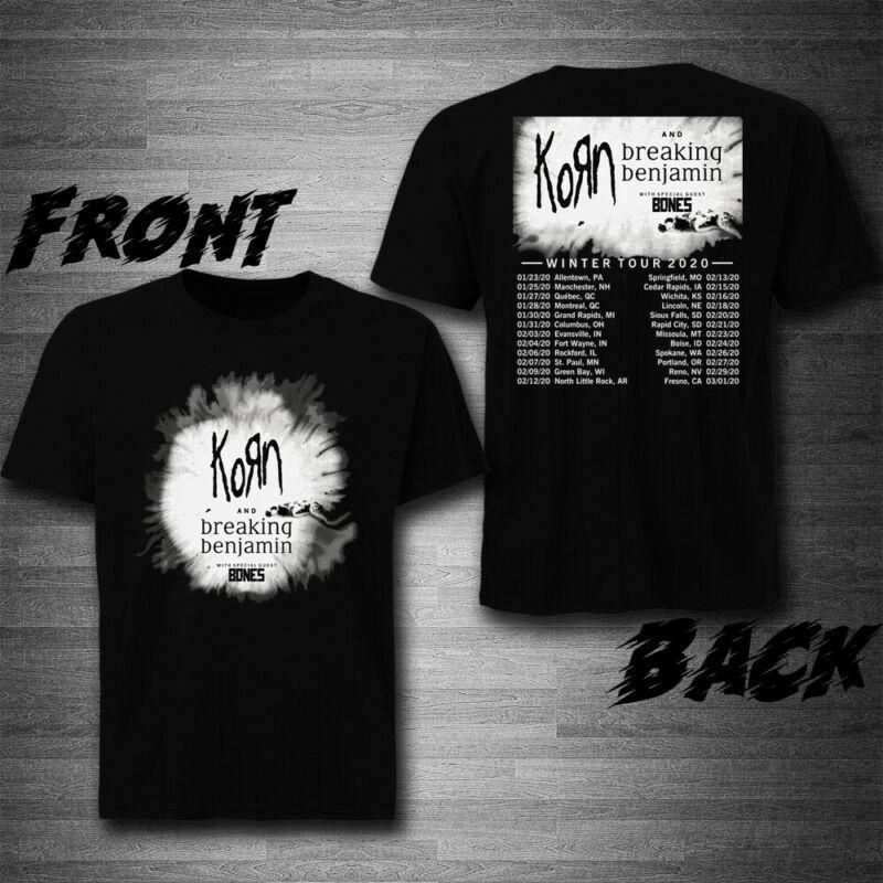 NEW KORN WINTER TOUR 2020 T-Shirt Tee Exclusive