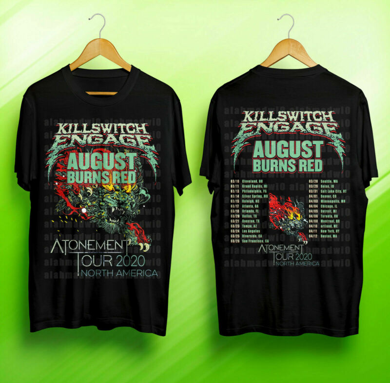 Killswitch Engage & August Burns Red Atonement North America Tour 2020 T-Shirt