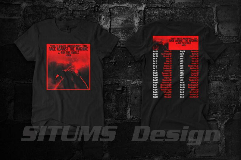 Rage Against The Machine Public Service Announcement Tour 2020 T Shirt