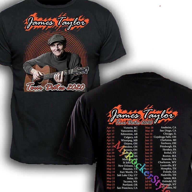 James Taylor American Standard Tour Dates 2020 T shirt S-2XL black