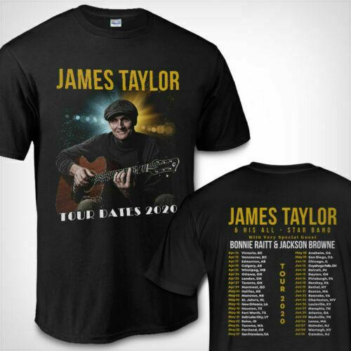 James Taylor Tour Dates 2020 Shirt American Tour 2020 Shirt Full Size