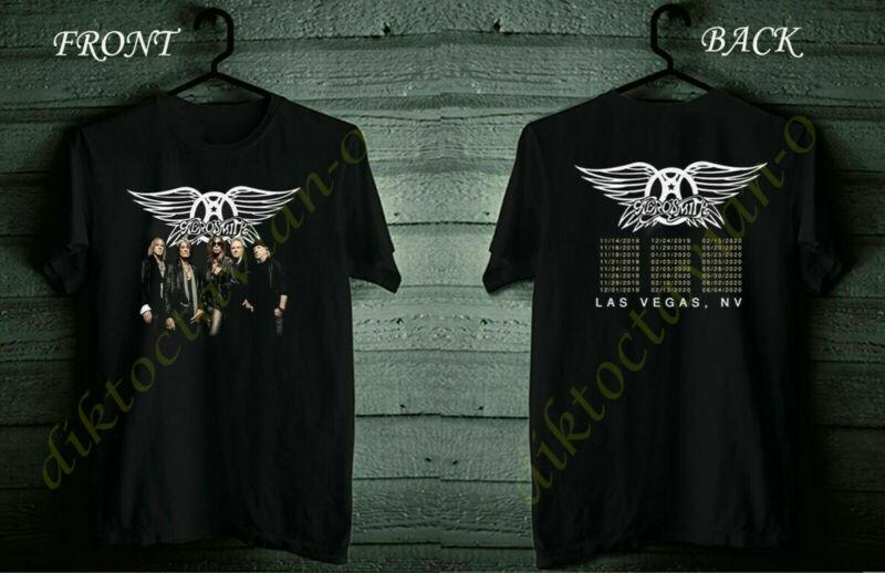 Aer0smith Deuces are Wild Concert Tour 2019-2020 T-Shirt S-5XL Black
