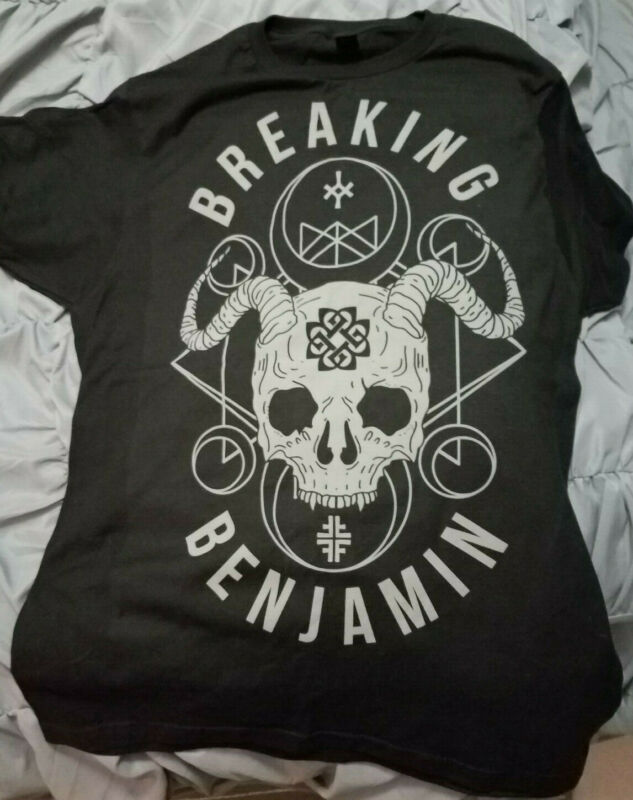 Brand New! 2020 Breaking Benjamin authentic winter rock tour w/ Korn t-shirt  si /Brand-New-2020-Breaking-Benjamin-authentic-winter-rock-114135737911.html