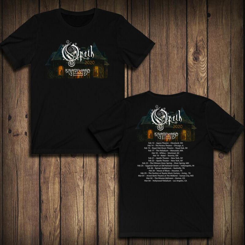 Opeth Tour 2020 North American Tour T-SHIRT GUARANTEE 100%