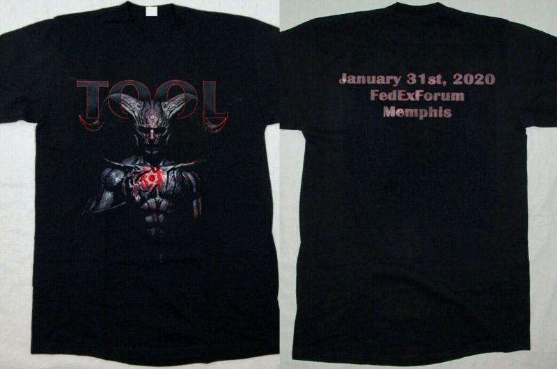 TOOL 2020 USA Tour -2020 - FedExforum Memphis  TN size S-5XL New t-shirt poster /TOOL-2020-USA-Tour-2020-FedExforum-Memphis-223890977493.html