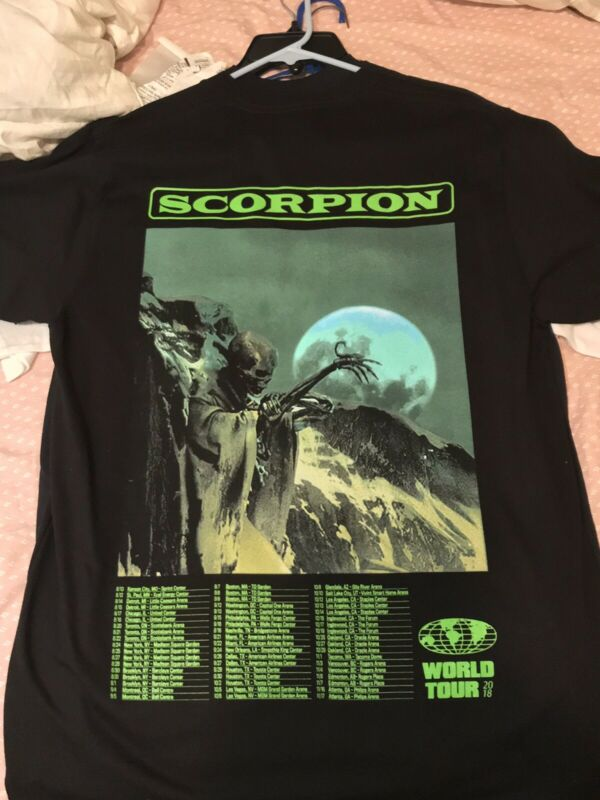 Drake Scorpion Tour Shirt Medium Limited Edition Ssense OVO Jungle 2020