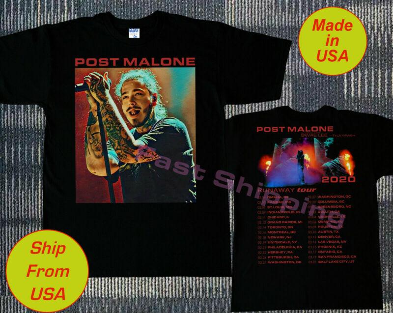 POST MALONE t-shirt Runaway Tour 2020 Second Leg - Hip Hop RnB Rap Music Tee