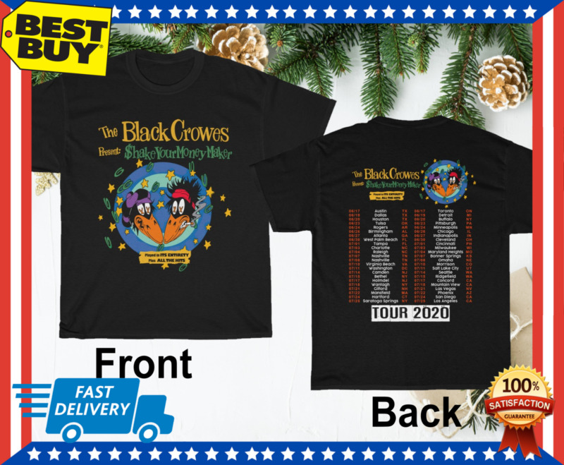 t Shirt 30th anniversary tour 2020 The Black Crowes
