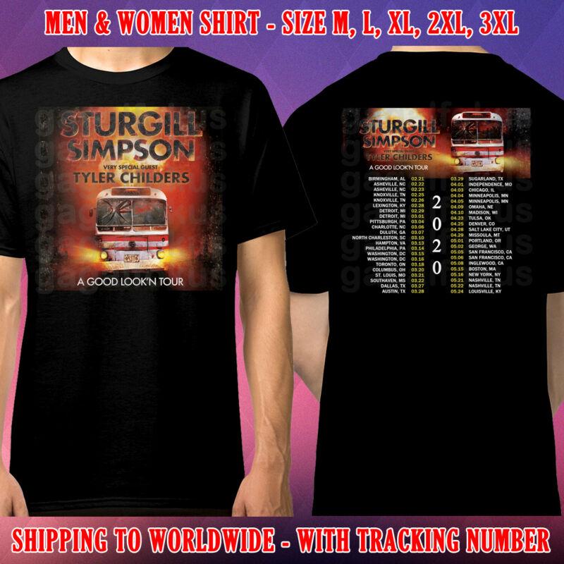 Sturgill Simpson Tour Dates 2020 Black Shirt Size M-3xl Galfok Free