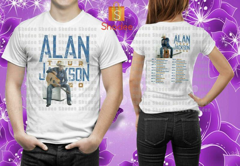 Alan Jackson Tour 2020 Merch T-Shirt S-5XL