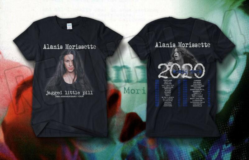 Alanis Morissette - Jagged Little Pill Tour Shirt Concert Dates 2020 T-SHIRT #@@