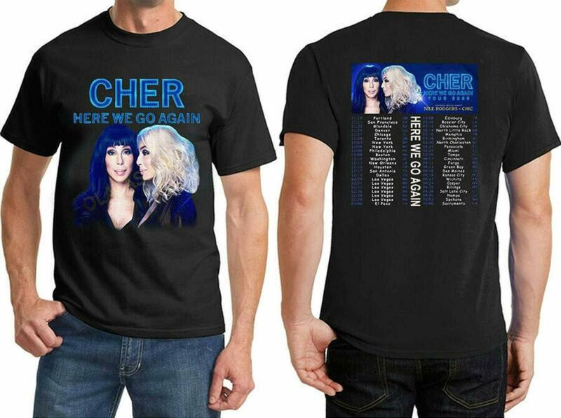 New Popular Cher 2020 Tour Here We Go Again T-Shirt