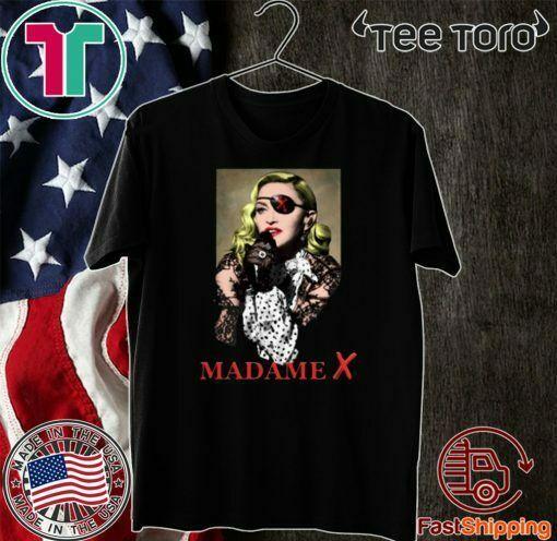 Madonna 2020 Madame X Concert Tour Shirt
