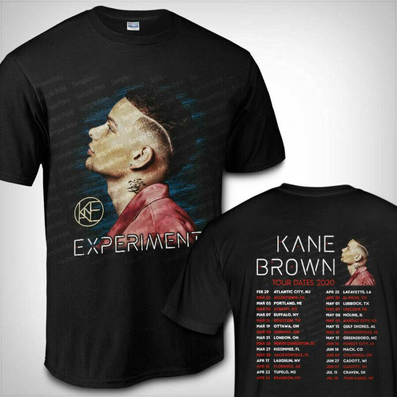 Kane Br0wn Tour Dates 2020 Experiment American Tour T Shirt Black
