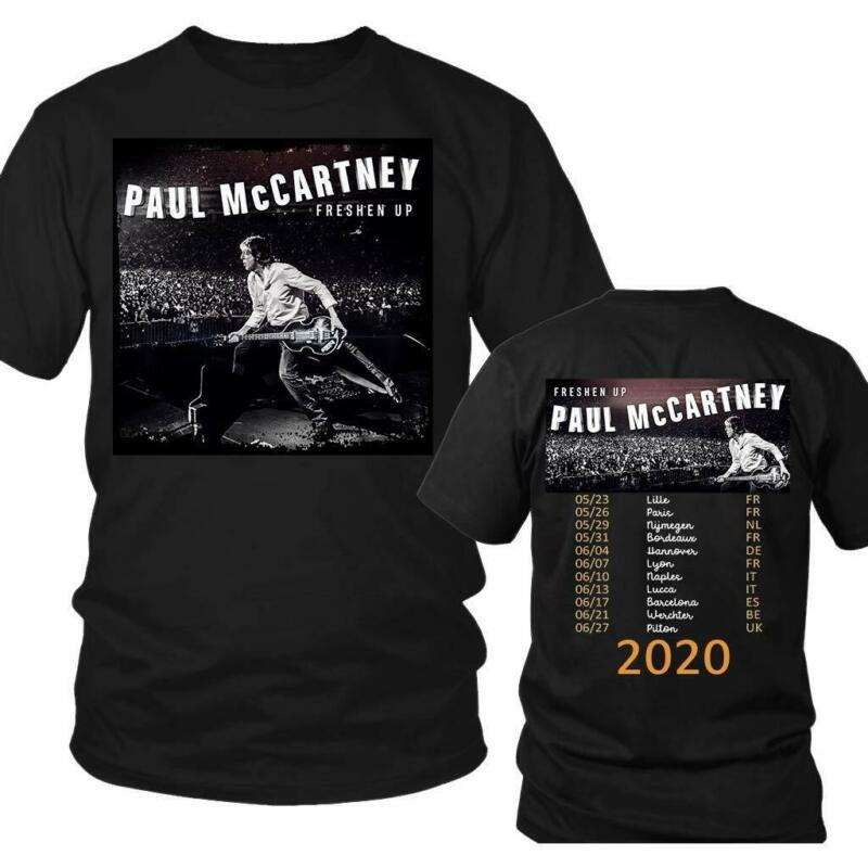 Paul-Mccartney Freshen Up Tour 2020 T-Shirt  Vintage Celebrity T-Shirt /Paul-Mccartney-Freshen-Up-Tour-2020-T-Shirt-Vintage-Celebrity-352963242787.html
