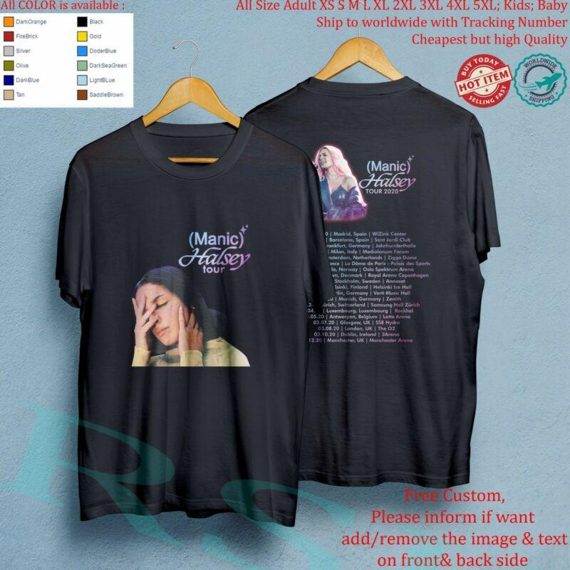 HALSEY MANIC TOUR 2020 Concert Album T-Shirt Adult S-5XL Youth Infants