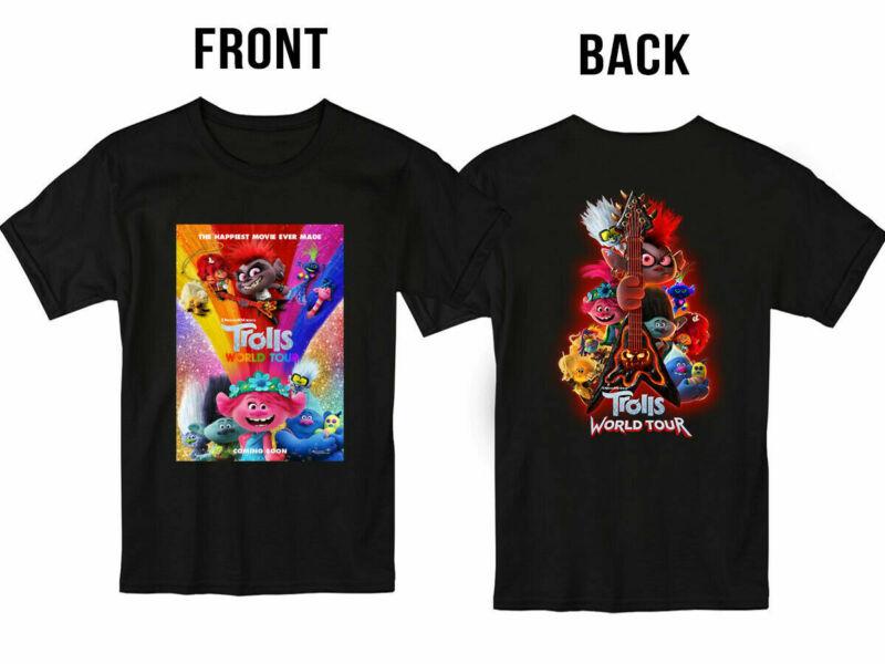 Trolls World Tour Movie 2020 T Shirt S-5XL Men and Women