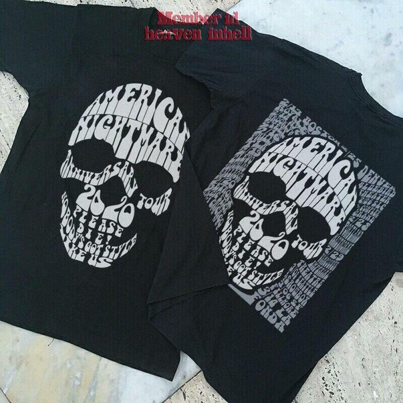 Cold Cave Concert Tour 2020 American Nightmare Anniversary T-shirt