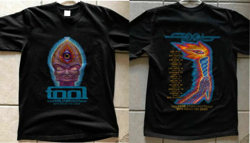 NEW TOOL Band Fear Inoculum Concert Tour Dates 2020 Poster Ticket t-Shirt