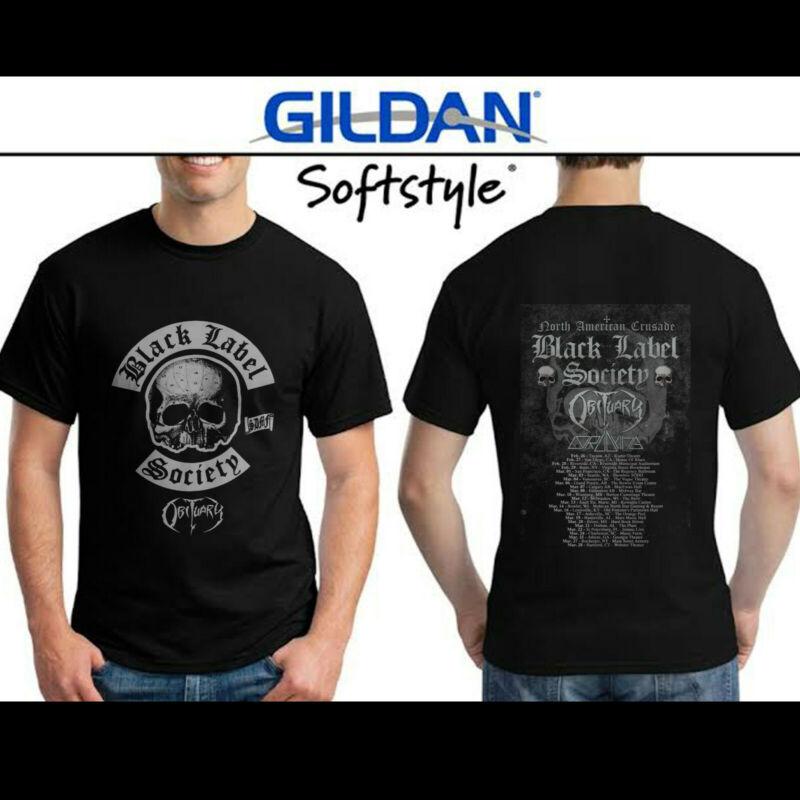 Black Label Society & Obituary Band Tour North American Crusade 2020 Shirt S-3XL