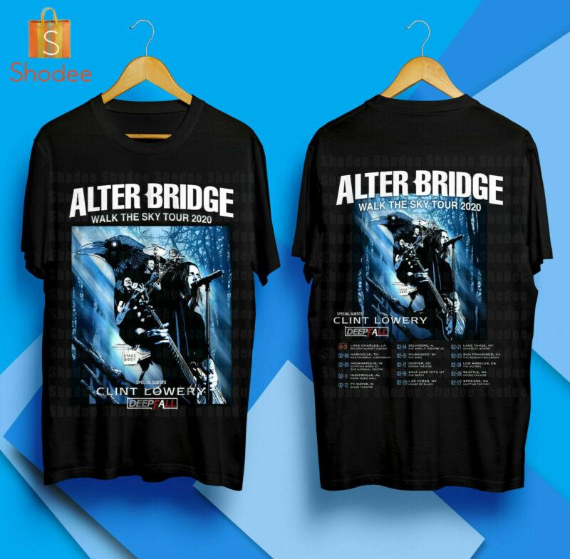ALTER BRIDGE Walk The Sky - US Tour 2020 Concert Merch T-Shirt S-5XL