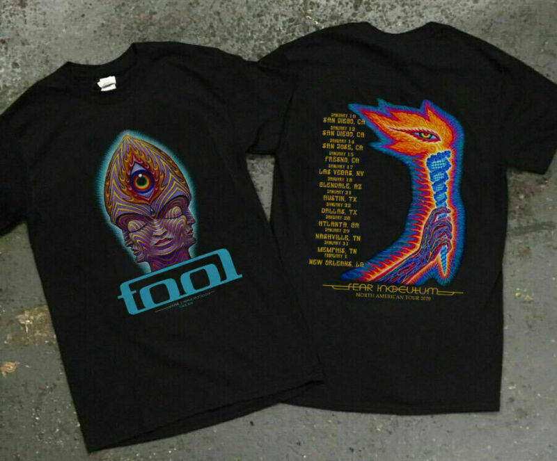 Details about Rare Tool Band Fear Inoculum Concert Tour dates 2020 Size S-2XL