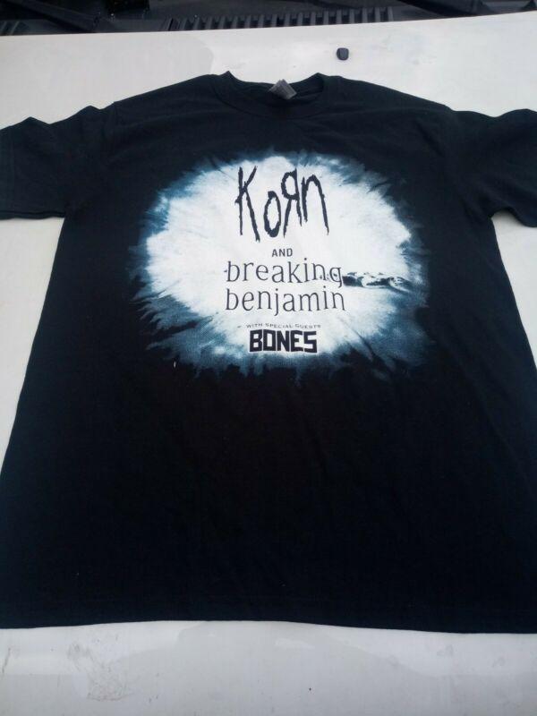 Korn and breaking Benjamin 2020 tour tee shirt