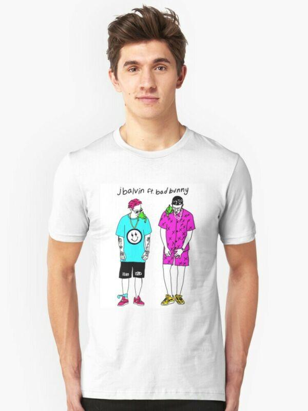 J Balvin Bad Bunny Tour 2019 2020 T-Shirt