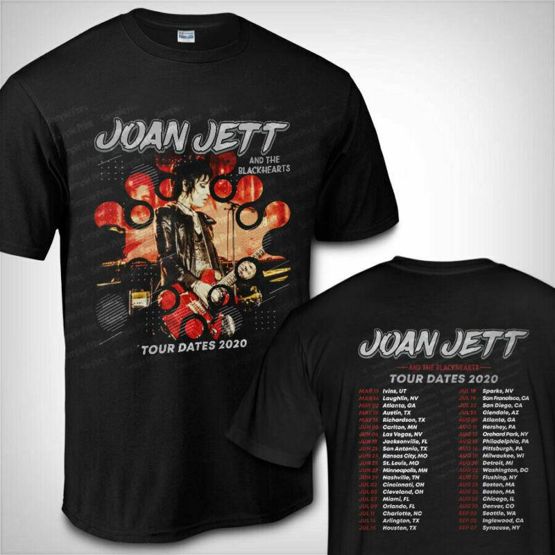 Joan Jett & The Blackhearts Merch Tour Dates 2020 T-Shirt S-5XL